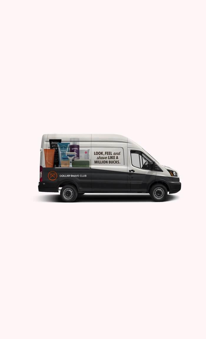 Unilever Van